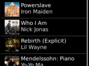 Rhapsody for BlackBerry now available