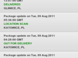 Package Tracking for BlackBerry updated to v6.0 - Adds a ton of carriers