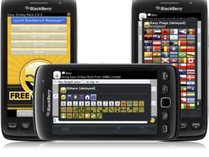 Easy Smiley Pack for BlackBerry updated to v2.0