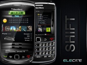 Shift by Elecite - A hot premium theme for your BlackBerry
