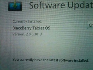 BlackBerry PlayBook v2.0 makes another appearance