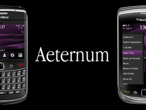Aeternum from BBThemes - A beautiful and simple theme for your BlackBerry, on sale now!
