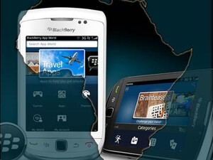 BlackBerry App World available in 9 additional African countries