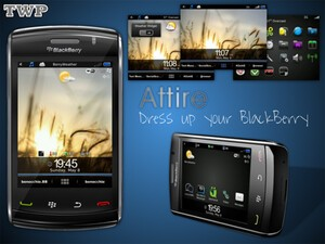 Dress up your BlackBerry with Attire by Pootermobile - 50 free copies up for grabs!