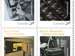 Research In Motion and BlackBerry being honored with commemorative stamps in Canada