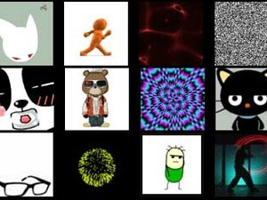 BBM Animated Avatars offers free animated gifs for BBM