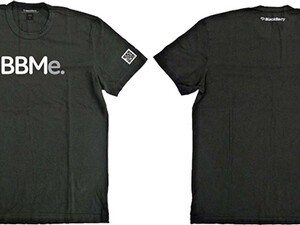 Grab your exclusive BBMe shirt for BlackBerry World/BlackBerry Jam from BBMShirts!