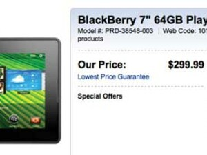 Best Buy Canada drops BlackBerry PlayBook pricing to $299 for all sizes