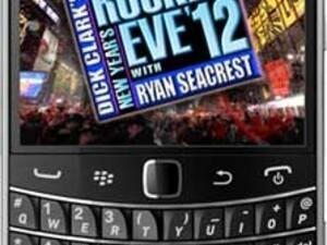 BlackBerry sponsoring Dick Clark's New Year's Rockin' Eve with Ryan Seacrest