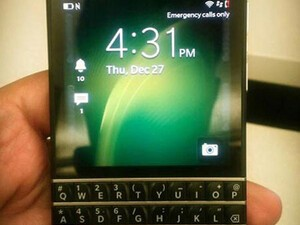 New pictures of the BlackBerry X10 surface!