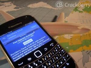 BlackBerry Travel updated to v2.0.40.99 - improved support for BlackBerry OS 7.1