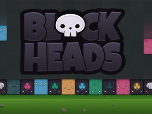 Blockheads by Critter Creative - A fast paced game for the BlackBerry PlayBook