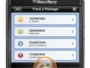 Canada Post releases BlackBerry app