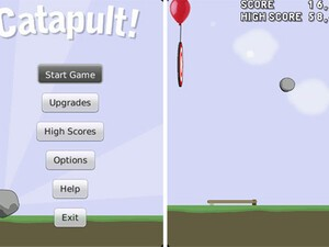 Rockin' BlackBerry game Catapult! updated - Catch stars for free upgrades!