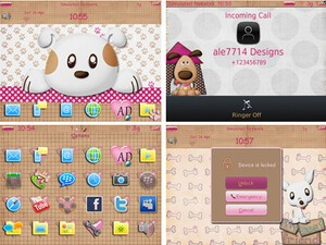 Check out Cute Puppies Theme by ale7714 Designs and enter to win one of 50 free copies!