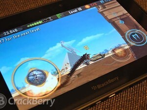 Death Worm comes to the BlackBerry PlayBook
