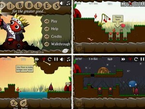 Dibbles for the BlackBerry PlayBook - Save the king!