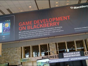 Check out the BlackBerry booth and sessions at the Game Developers Conference this week!
