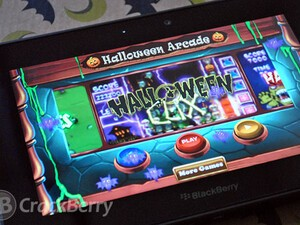Keep your little goblins entertained with Halloween Arcade for the BlackBerry PlayBook