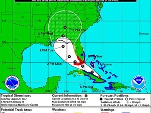Hurricane Isaac is headed to the Gulf Coast, are you prepared?