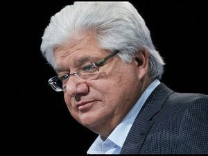 Mike Lazaridis discusses stepping down as co-CEO of RIM, confidence in the future of the company and Thorsten Heins