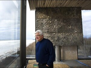 Ex-RIM CEO Mike Lazaridis is building inspiration on the shores of Lake Huron
