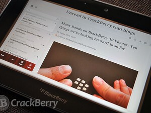 Newspile for the BlackBerry PlayBook updated to v1.1.1