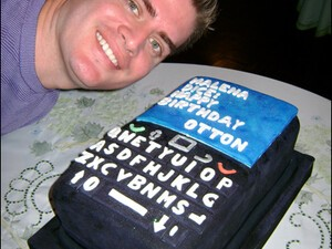 CrackBerry reader Otton gets a sweet BlackBerry cake for his birthday!