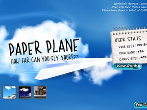 PaperPlane for BlackBerry PlayBook updated with all new levels!