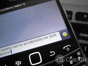 The many faces of Shift+Delete on the BlackBerry keyboard