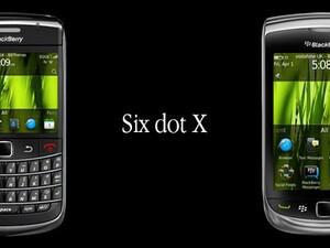 Six dot X for BlackBerry by BBThemes