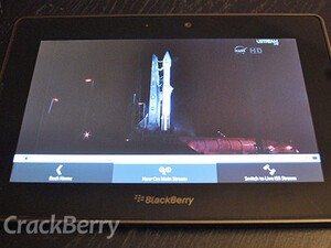 Watch free streaming and on-demand videos from NASA with Space TV for BlackBerry PlayBook