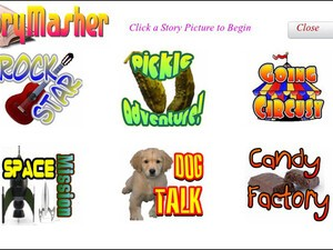 StoryMasher for the BlackBerry PlayBook - Entertain the kids with interactive stories!
