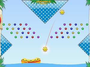 Sundrops for the BlackBerry PlayBook - Caribbean pearl-collecting physics fun!