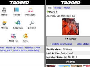 Tagged releases free app for BlackBerry