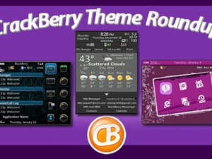 BlackBerry theme roundup for Jan 11, 2011 - 25 free copies of Stellar by RJ Designs available!