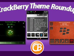 BlackBerry theme roundup for March 14, 2011 - 50 copies of Crescent by Raypho to give away!