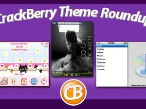 BlackBerry theme roundup - We have 50 copies of CustomMAX by Global Torch Themes to give away!