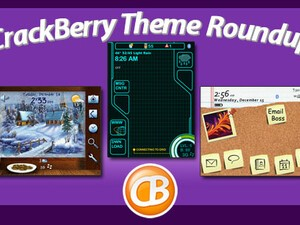 BlackBerry theme roundup for December 21, 2010 - 50 copies of Corky by BerryGoodThemes up for grabs!