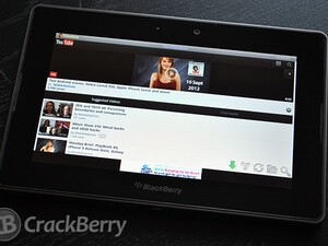 Download YouTube videos for offline viewing with TubeMate for the BlackBerry PlayBook