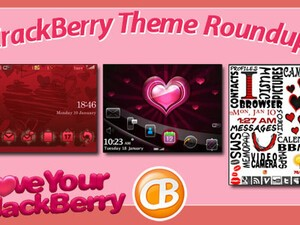 BlackBerry theme roundup - Valentine's Day edition!