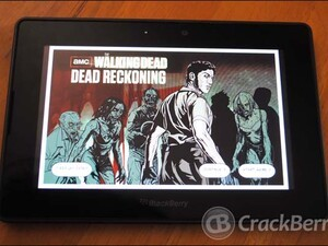 The Walking Dead: Dead Reckoning now available for the BlackBerry PlayBook!