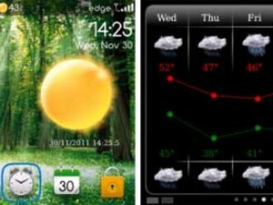 Contest: Enter to win a free copy of XWeatherPro for BlackBerry!