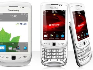 BlackBerry Torch 9810 now available in white from Rogers and Telus