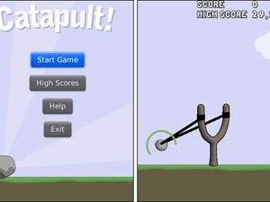Fling boredom away with Catapult, a rockin new game for BlackBerry!