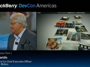 BlackBerry DevCon 2011 General Sessions posted online