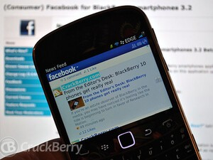 Facebook for BlackBerry smartphones version 3.2.0.9 now available in BlackBerry Beta Zone