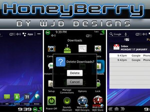 HoneyBerry by WJD Designs - Replicate the Android Honeycomb OS on your BlackBerry! 25 copies to be won!
