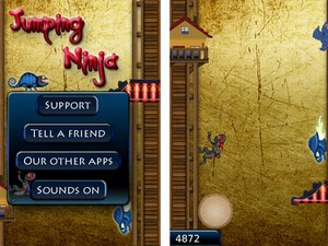 Jumping Ninja by Vimukti Technologies - How far can you climb?