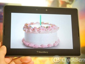 Happy Birthday BlackBerry PlayBook! Help us celebrate - leave a comment and you could win a new PlayBook!